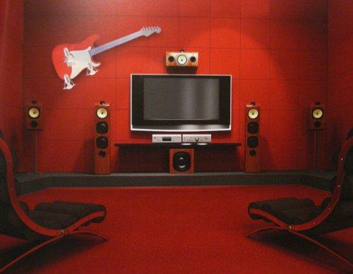 Imagen 2 de GUITAR III LED Lampara de pared Lampara infantil (E14, R50, 40W) madera PET PC acero