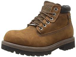Skechers USA Men\'s Verdict Men\'s Boot,Dark Brown,11 M US