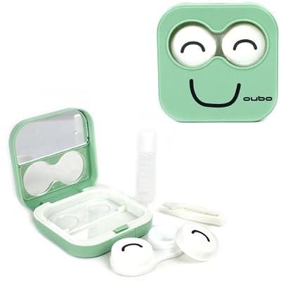 Happy Face Contact Lens Kit Case