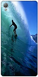 Snoogg Surfer Style 2 Case Cover For Sony Xperia Z3