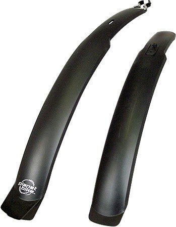 Planet Bike Clip-On Front and Rear Bike Fender Set (ATB)