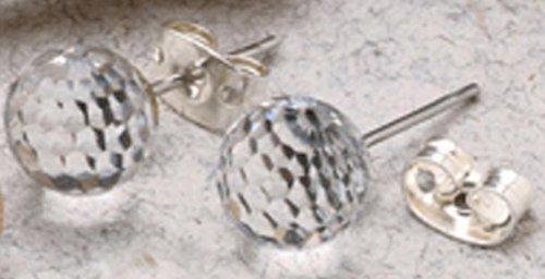 Swarovski Crystal Golf Ball Earrings. GORGEOUS for Everyday Wear!