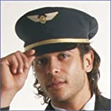 Airline Pilot Hat Adult Costume Accessory