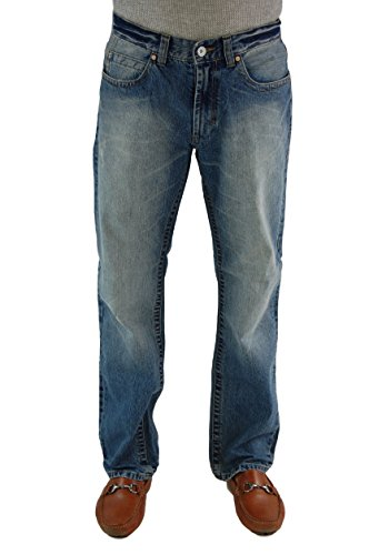 Alpinestars Men's CIRCUIT Straight Leg Jeans Motocross Denim, 32, 7-Year Faded