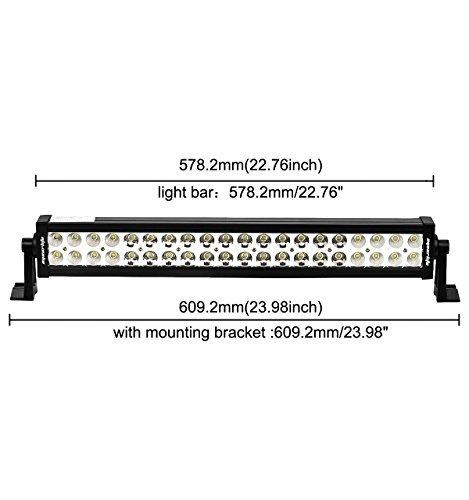 eyourlife 22 inch light bar 24\