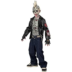 Rubie's Costume Co Rubies Costume Punk Zombie Child Costume Large