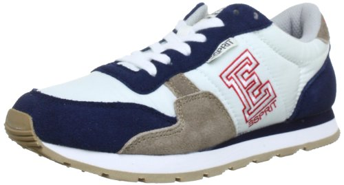 ESPRIT Kivu-e Lace Up Low Top Unisex-Child Blue Blau (navy 400) Size: 35