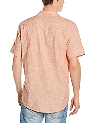 New Look Men's Kaiser Texture Casual Shirt