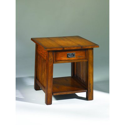 Image of Hammary Canyon 28x24 Rectangular Drawer End Table (T00013-T01321-00)