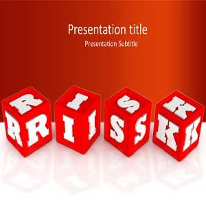 Risk Powerpoint Templates - Market Risk Background for Powerpoint