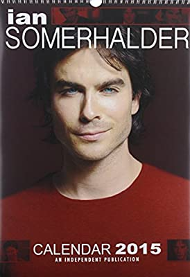 Ian Somerhalder Calendar - 2015 Wall Calendars - Celebrity Calendars - Monthly Wall Calendar by Dream International