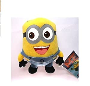 WAWO Cute Despicable Me Minion Stewart Plush Figure Cartoon Toy