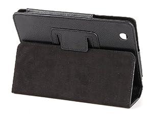 tinxi® PU Ledertasche für Lenovo Lepad A1 Schutzhülle Etui Hülle Case Cover Etui schwarz