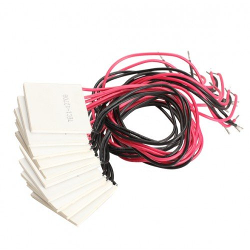 Best Brand 10Pcs 12V 8A Tec1-12708 Thermoelectric Cooler Peltier Plate Module Heatsink front-329902