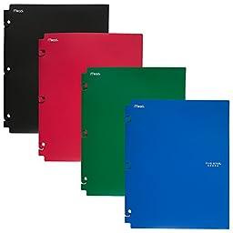 Five Star Binder Pocket Folder, Snap-In Folder, 2 Pockets, 11-5/8\