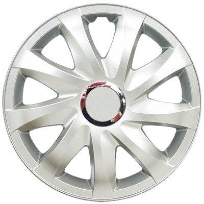 Radkappen silber 15 Zoll 1 Satz (4 Stück) mit Chromring von Autoteile024 bei Reifen Onlineshop