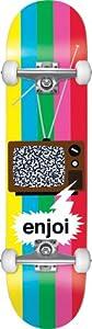 Enjoi Tv Static Complete Skateboard (7.5-Inch)