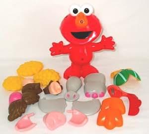 Fisher Price Silly Parts Talking Elmo Potato Head Doll Toy