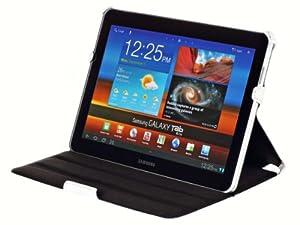 UltraSlim Tasche Samsung Galaxy Tab 10.1 & 10.1N P7501/ P7511 Case Schutzhülle Etui mit Standfunktion in Weiß