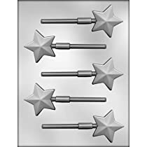 CK Products 2-Inch Faceted Star Chocolate Mold