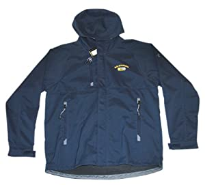 West Virginia Mountaineers Under Armour Navy Zip Front Performance Jacket (L) by Under Armour