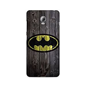 Mobicture Batman On Wood Premium Printed Case For Lenovo Vibe P1