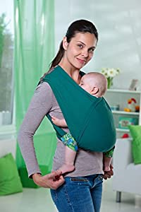 amazonas echarpe de portage sans noeud carrybaby stone. Black Bedroom Furniture Sets. Home Design Ideas
