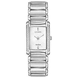 Citizen Women's EG2960-57A Euphoria Analog Display Japanese Quartz Silver Watch