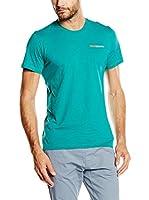 Wildcountry Camiseta Manga Corta Logo M T (Verde Agua)