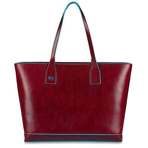 Piquadro Shopping, Collezione Blue Square, 36 cm, Rosso