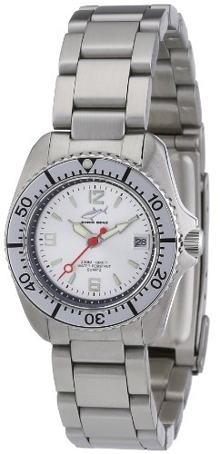 Chris Benz Women's Quartz Watch CBL.SI.MB.SI with Metal Strap
