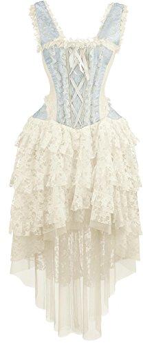 Burleska Ophelie Dress Abito lungo blu L