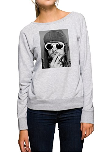 Kurt Smoking Sweater Girls Grigio Certified Freak-S