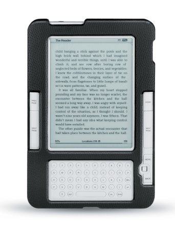 Body Glove Amazon Kindle 2 Fitted Hard Shell Case with 2 Screen Protectors (9106401) at Electronic-Readers.com