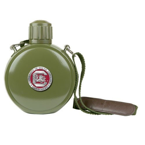 South Carolina Gamecocks Colored Logo Canteen with Compass купить