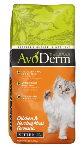 Avoderm Natural Chicken & Herring Meal Formula Kitten Food, 7-Pound front-426734
