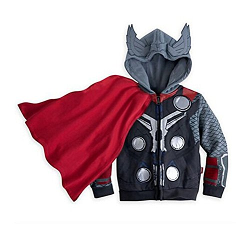 Sopher® Kids Idol Superhero Series Marvel's The Avengers Cotton Full Zip Hoodie