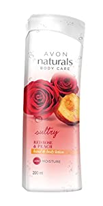Naturals Red Rose Peach Body Lotion, 200ml