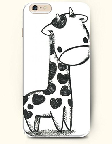 Oofit Apple Iphone 6 Case 4.7 Inches - A Sketch Of Giraffe front-636579