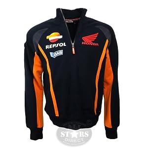 Official Honda Repsol Moto GP Team Gas Reps Half Zip Hoodie