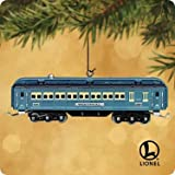 41U1jOp4GgL. SL160  Hallmark Keepsake Ornament Lionel Blue Comet Passenger Car Train, 2002, Light Glows