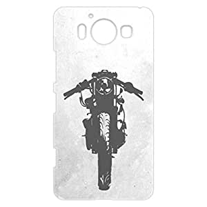 a AND b Designer Printed Mobile Back Cover / Back Case For Nokia Lumia 950 (NOK_950_3D_2968)