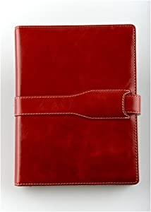 M-edge Executive Jacket for Sony Reader PRS-505 (Genuine Leather--Marbled Red) - SALE!