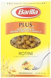 Barilla PLUS Rotini Pasta, 14.5 Ounce Box