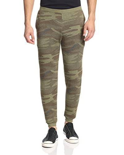 Alternative Men's Printed P.E Fleece Pant