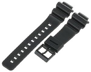 Voguestrap TX16G14 Allstrap 16mm Black Regular-Length Fits Casio G-Shock and Tri-Graph Watchband