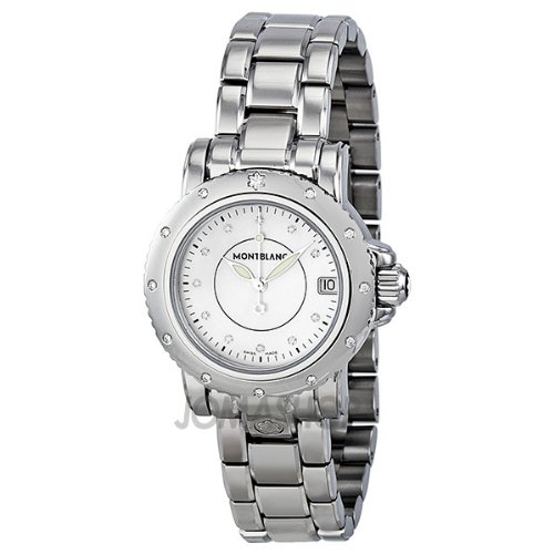 Montblanc Sport Diamond Mother of Pearl Dial Ladies Watch 102362