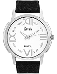 Cavalli Black Dial Analog Watch- For Men`