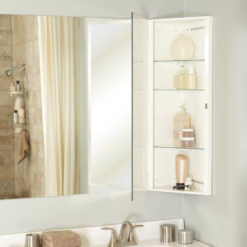 Zenith Mb36cvbb Over The Mirror Corner Medicine Cabinet Frameless Home Garden Bathroom