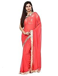 Aum Women's Saree With Blouse Piece - B00UHSNO80